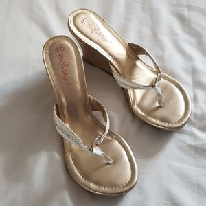 Lilly Pulitzer strap sandals size 9M